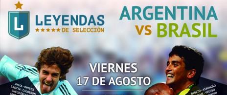 Leyendas de Selección - Argentina vs Brasil