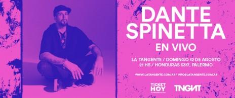 Dante Spinetta en La Tangente