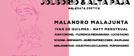 Jolgorio & Alta Paja: malajunta erótica