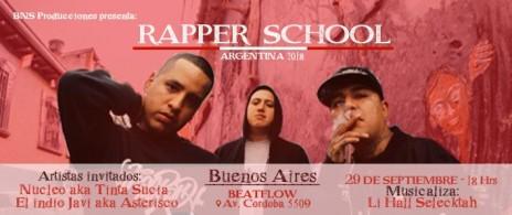 Rapper School Argentina 2018