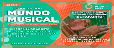 COMO EN UN MUNDO MUSICAL - EL TAPARITO