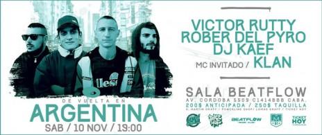 VictorRutty|RoberDelPyro|DjKaef