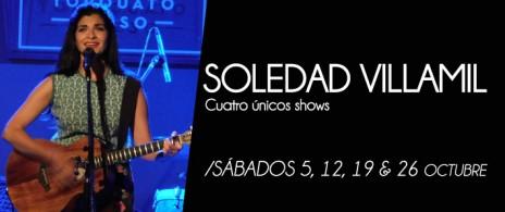 Soledad Villamil en concierto