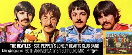 THE BEATLES -  SGT. PEPPER´S LONELY HEARTS CLUB BAND - BLIND SOUND EXPERIENCE