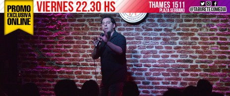 2x1 para Viernes 22:30 hs - Stand Up en Plaza Serrano