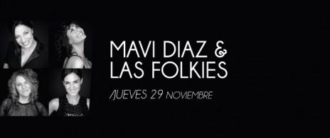Mavi Diaz y Las Folkies en el Tasso