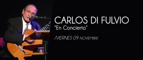 Carlos Di Fulvio en el Tasso