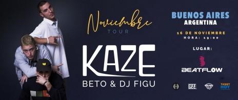 Kaze tour sudamericano