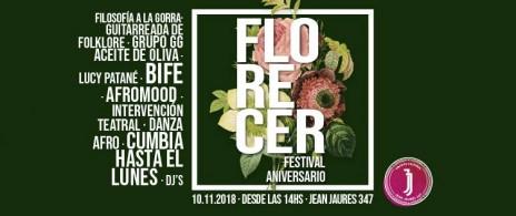 Florecer es Cultura - Aniversario JJ