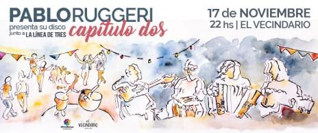 Pablo Ruggeri presenta su disco