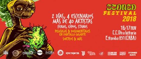 Stoned Festival 2018 en CC Otra Historia